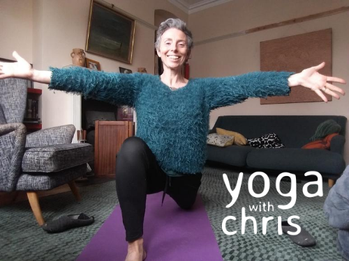 yoga with chris at home
