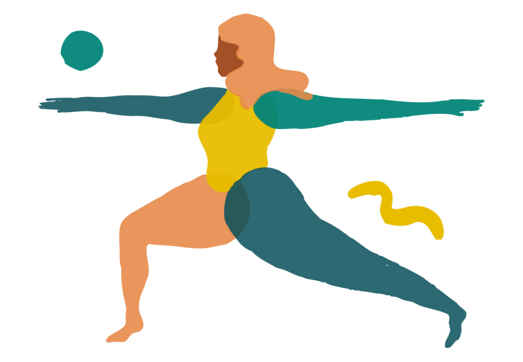 yoga with chris illustration