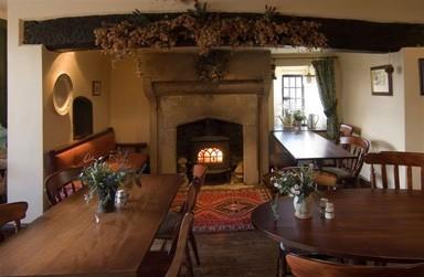 Fire Place at Hartington Hall