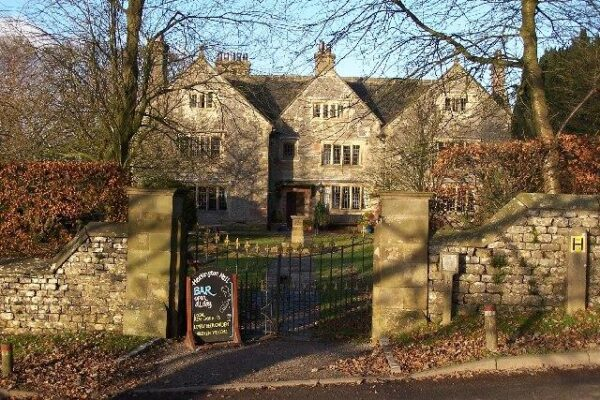 Hartington Hall gates