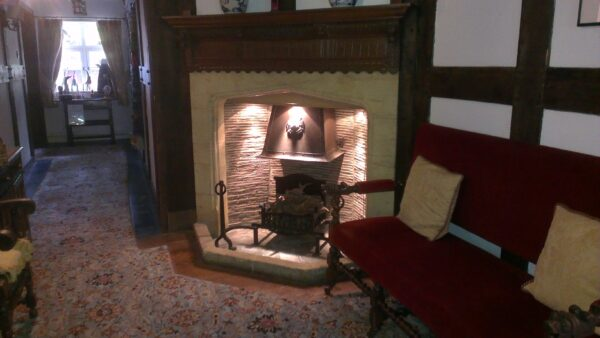 Fireplace at Holland House